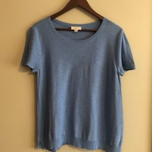 Loft Short Sleeve Sweater Size L